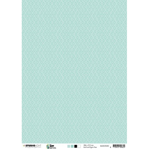 Studio Light Achtergrondpapier 1vel A4 Create Happiness nr 282 BASISCR282 (02-19)