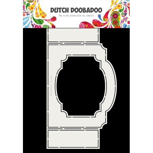 Dutch Doobadoo Fold card art ticket with frame A4 470.713.703 (02-19)