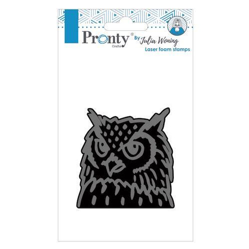Pronty Foam stamp Owl 494.904.007  Julia Woning (02-19)