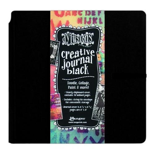 Ranger Dylusions Creative Journal Black Square DYJ45557 Dyan Reaveley