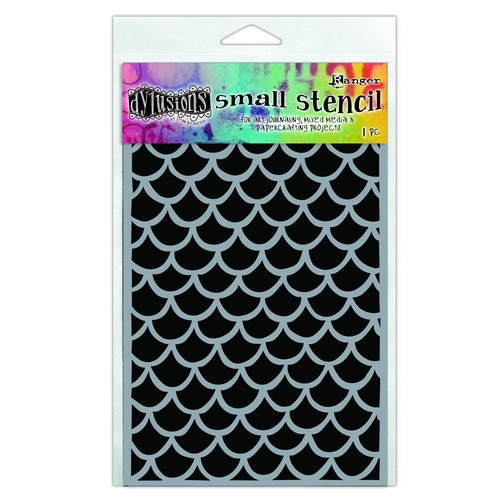 Ranger Dylusions Stencils Fishtails - Small DYS63650 Dyan Reaveley