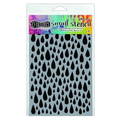 Ranger Dylusions Stencils Teardrops - Small DYS63704 Dyan Reaveley
