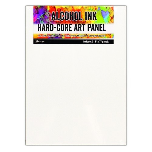 Ranger Alcohol Ink Hard Core Art Panels 5 x 7 3 Pack TAC66903 Tim Holtz (02-19)
