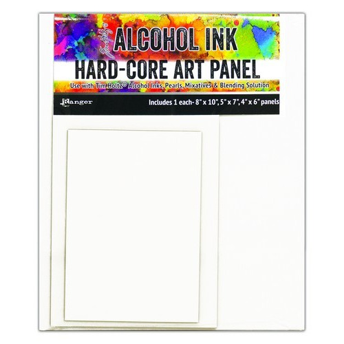 Ranger Alcohol Ink Hard Core Art Panels Rectangle 4x6, 5x7, 8x10 TAC66910 Tim Holtz (02-19)