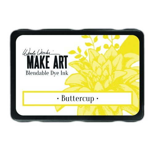 Ranger MAKE ART Dye Ink Pad Buttercup WVD64299 Wendy Vecchi (02-19)