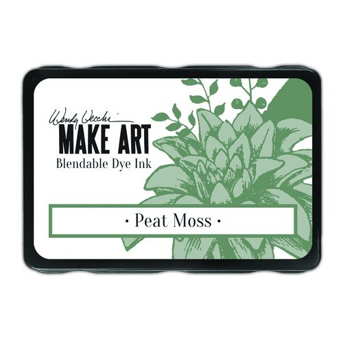 Ranger MAKE ART Dye Ink Pad Peat Moss WVD64343 Wendy Vecchi (02-19)