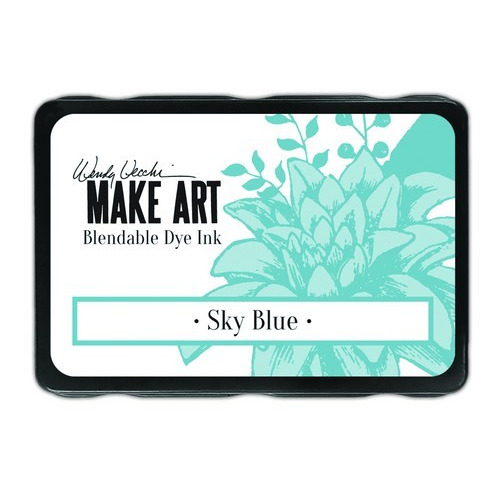Ranger MAKE ART Dye Ink Pad Sky Blue WVD64374 Wendy Vecchi (02-19)