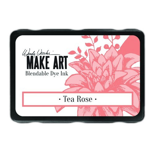 Ranger MAKE ART Dye Ink Pad Tea Rose WVD64381 Wendy Vecchi (02-19)
