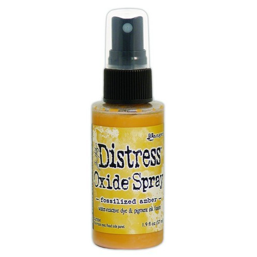 Ranger Distress Oxide Spray - Fossilized Amber TSO64756 Tim Holtz (02-19)