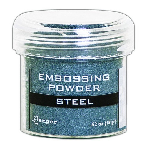 Ranger Embossing Powder 34ml - Metallic Steel EPJ66873 (02-19)