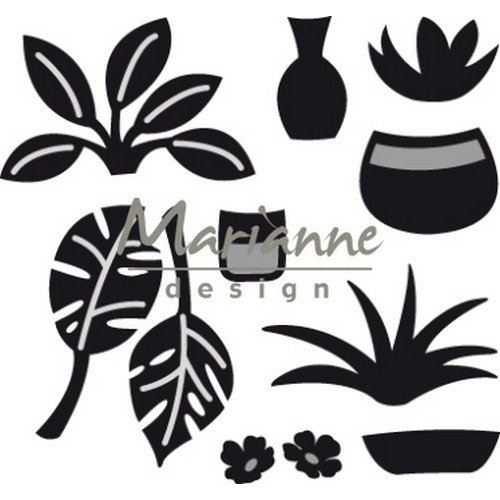 Marianne D Craftable Marleen`s groen CR1464 65x61mm (03-19)