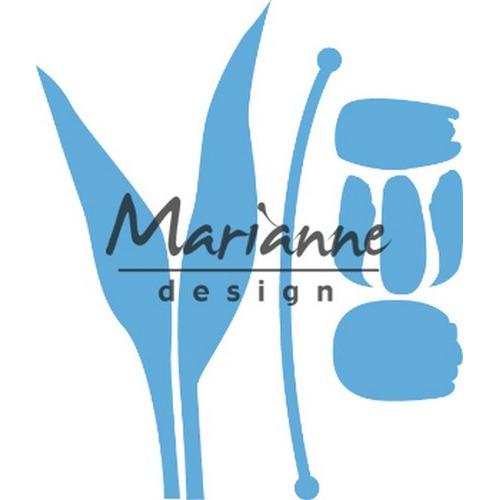 Marianne D Creatable Build-a-Tulip LR0586 130x50.5mm (03-19)
