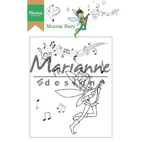 Marianne D Clear Stamp Hetty's Musical Fairy HT1643 15,5 x 10,5 cm (03-19)