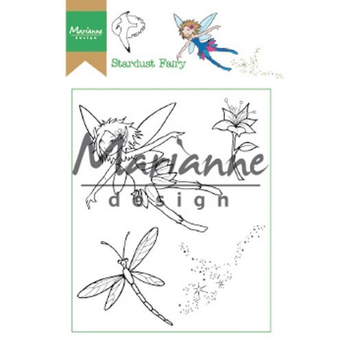 Marianne D Clear Stamp Hetty's Stardust Fairy HT1644 15,5 x 10,5 cm (03-19)