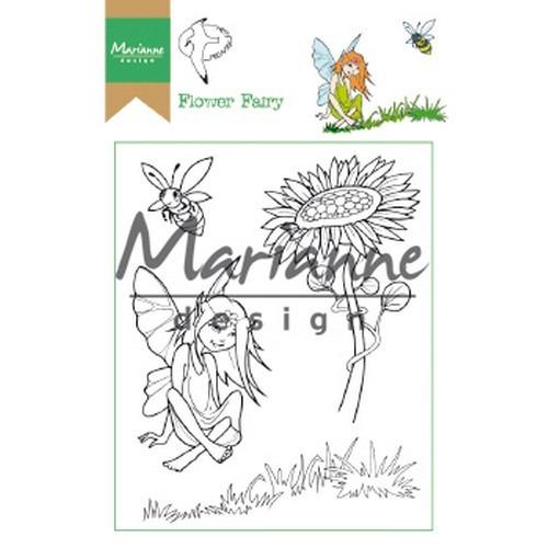 Marianne D Clear Stamp Hetty's Flower Fairy HT1645 15,5 x 10,5 cm (03-19)