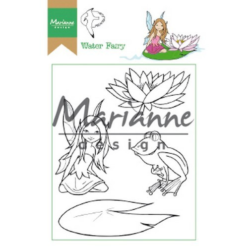 Marianne D Clear Stamp Hetty's Water Fairy HT1646 15,5 x 10,5 cm (03-19)
