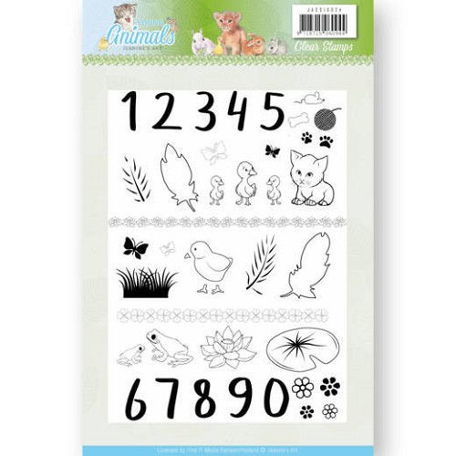Clear Stamps - Jeanine`s Art - Young Animals