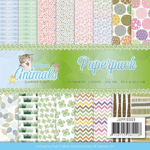 Paperpack - Jeanine`s Art - Young Animals