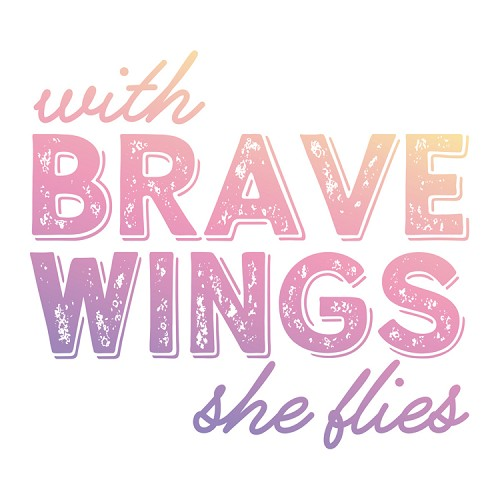 Brave Wings Mini Stamp (1pc)