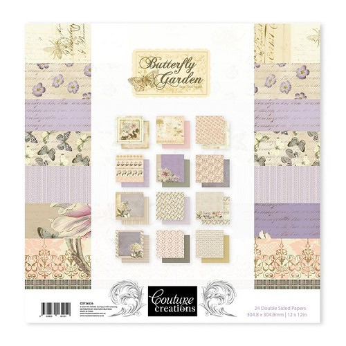 Butterfly Garden - 12 x 12 Paper Pad (24pc)