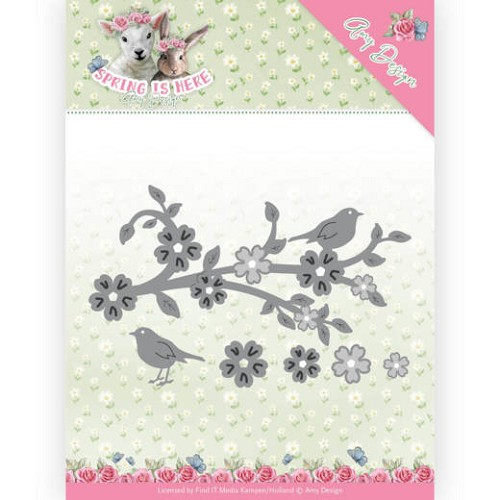 Dies - Amy Design - Spring is Here - Blossom Branch