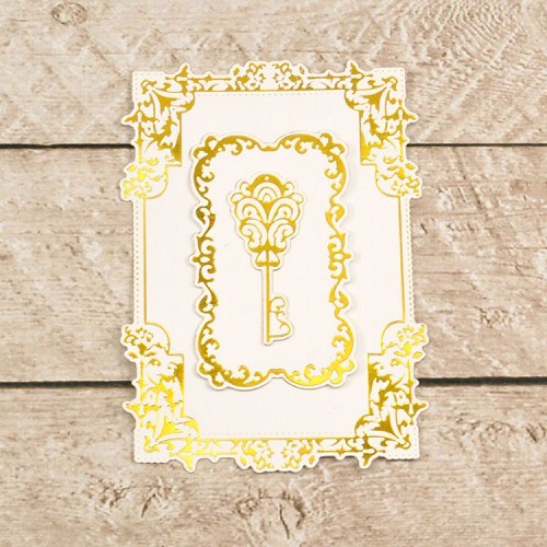 Cut, Foil and Emboss Decorative Nesting Treasured Frames