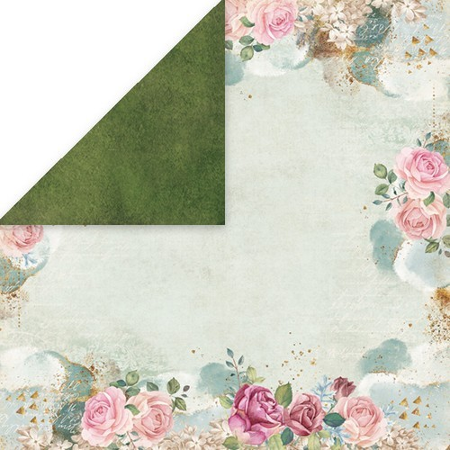 "Craft&You Flower Vibes single paper 12""x12"" CP-FV06 (02-19)"