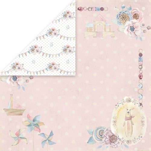 "Craft&You Baby World single paper 12""x12"" CP-BW03 (02-19)"