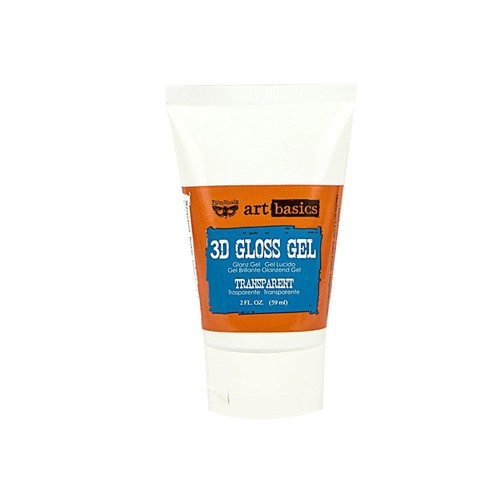 Prima Marketing 3D gloss gel tube gel paste gesso