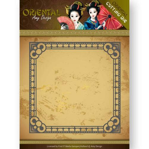 Dies - Amy Design - Oriental - Square Frame