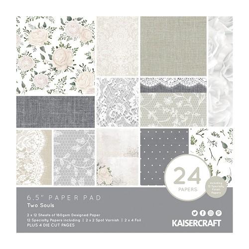 Kaisercraft • paper pad 16,5x16,5cm Two souls