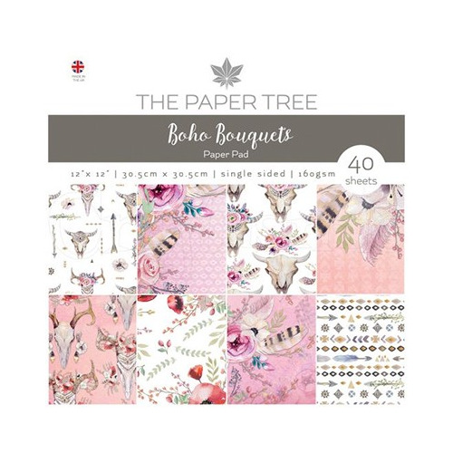 The Paper Tree - Boho Bouquets Paper Pad
