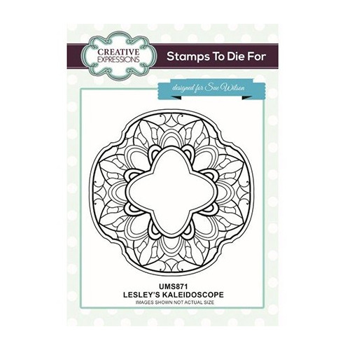 To Die For Stamp Lesley`s Kaleidoscope Pre Cut Stamp