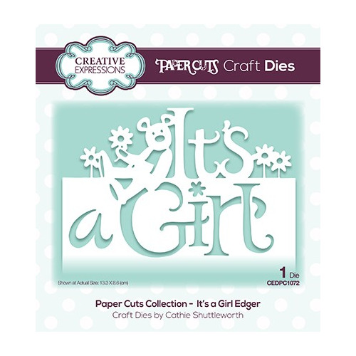 The Paper Cuts Collection It`s a Girl Edger