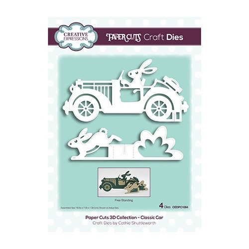 The Paper Cuts 3D Collection Classic Car
