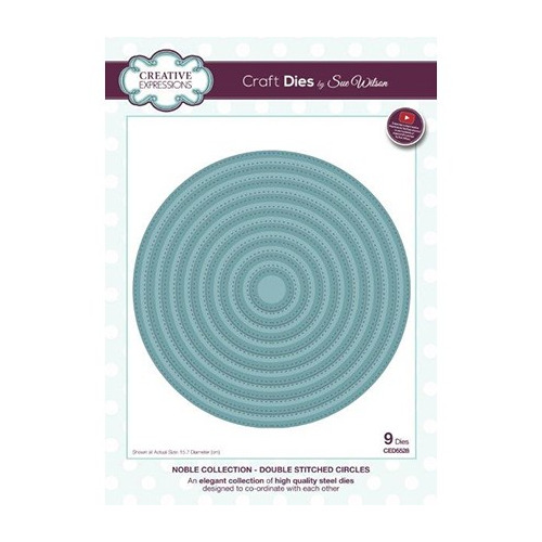 Noble Collection Double Stitched Circles