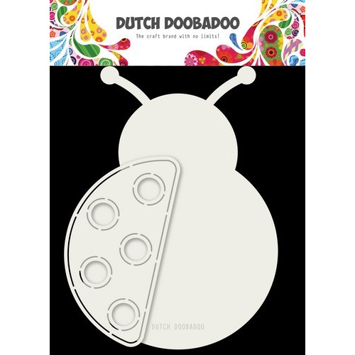 Dutch Doobadoo Card art Lieveheersbeestje A5 470.713.709 (03-19)