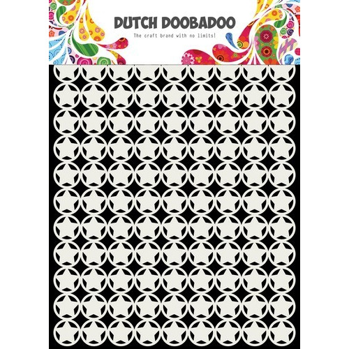 Dutch Doobadoo Dutch Mask Art sterren A5 470.715.135 (03-19)