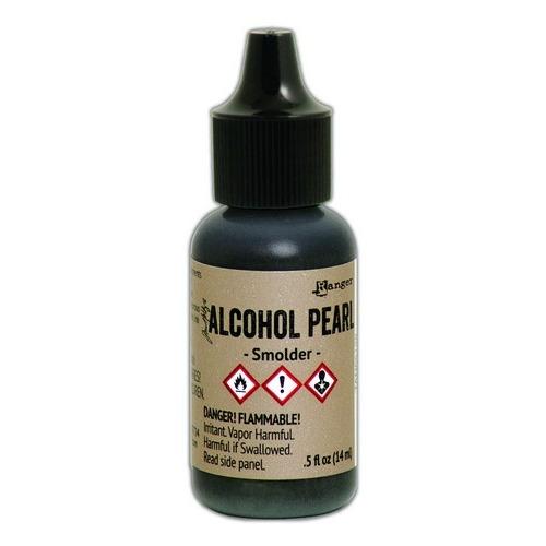 Ranger Alcohol Ink Pearl 15 ml - Smolder TAN65128 Tim Holtz (03-19)