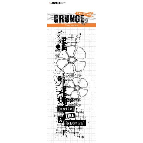 Studio Light Clearstempel Grunge Collection 2.0 nr.361 STAMPSL361 210x74 mm (03-19)