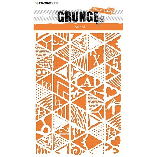 Studio Light mask Stencil A5 Grunge Collection 2.0 nr.14 MASKSL14 (03-19)