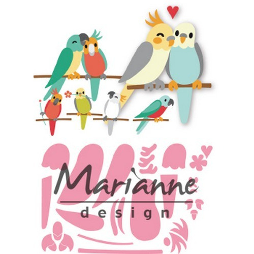 Marianne D Collectable Eline's vogels COL1465 75x28mm (04-19)