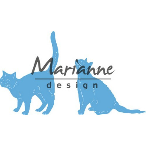 Marianne D Creatable Tiny's katten LR0591 43x62 -52x42mm (04-19)