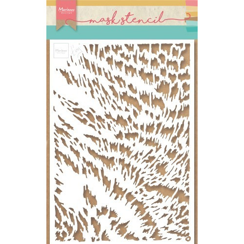 Marianne D Stencil Tiny's kattenvacht PS8028 149x210mm (04-19)