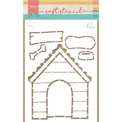 Marianne D Stencil Doghouse by Marleen PS8030 149x210mm (04-19)