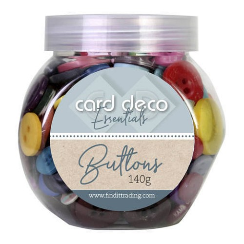Card Deco Essentials - Buttons 140 gr