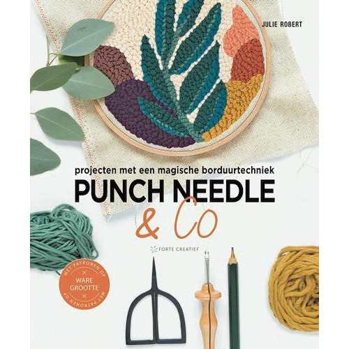 Forte Boek - Punch needle & co Julie Robert (04-19)