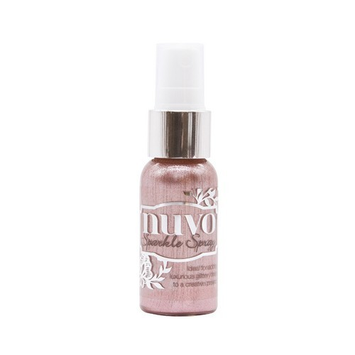 Nuvo Sparkle Spray - Blush Burst 1660N (04-19)