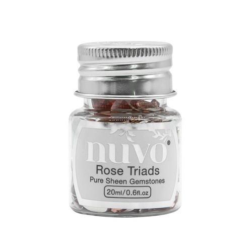 Nuvo Gemstones (ass. sizes) - rose triad 1407N (04-19)