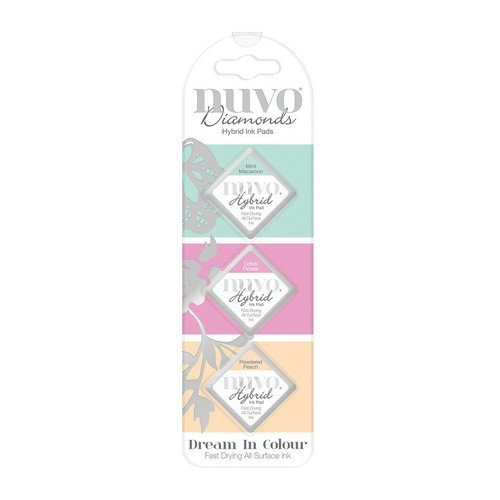 Nuvo Diamond hybrid ink pads - dream in colour 84N (04-19)